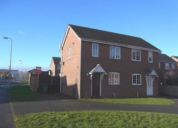 Thumbnail 2 bed semi-detached house to rent in 182, Cabin Lane, Oswestry, Shropshire