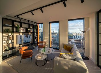 Thumbnail 1 bed flat for sale in One Crown Place, Hackney