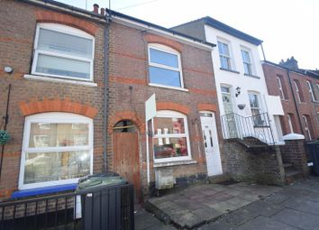 Thumbnail 2 bed terraced house to rent in Milton Road, Luton