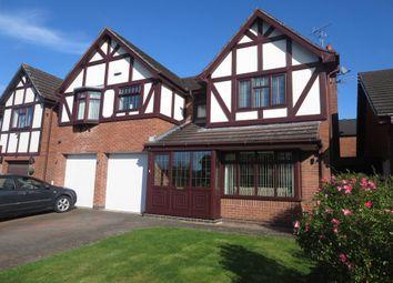 Thumbnail 5 bed detached house for sale in Terrington Drive, Westbury Park, Newcastle Under Lyme