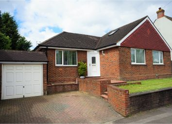 Thumbnail 4 bed detached bungalow for sale in Capstone Road, Chatham