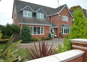 Thumbnail 4 bed detached house for sale in Yewtree Close, Little Neston, Neston