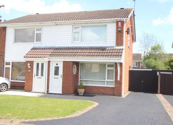 Thumbnail 3 bedroom semi-detached house for sale in Lochmore Way, Hinckley