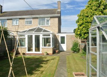Thumbnail 3 bed semi-detached house for sale in Torfrida Drive, Bourne, Lincolnshire