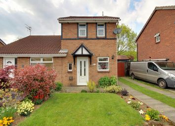 Thumbnail 2 bedroom semi-detached house for sale in Overdale Close, Long Eaton, Nottingham