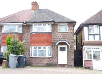 Thumbnail 3 bedroom semi-detached house for sale in Tudor Court North, Wembley