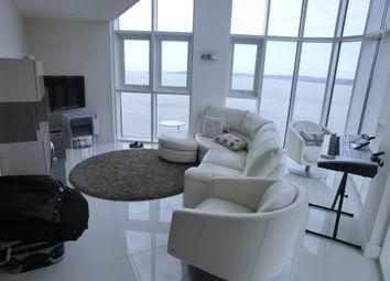 Thumbnail 3 bed flat to rent in Meridian Tower, Trawler Road, Maritime Quarter, Swansea