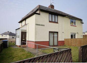 Thumbnail 2 bed semi-detached house for sale in Deneburn Terrace, Consett