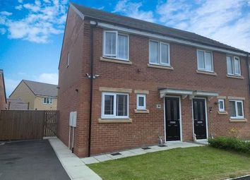 Thumbnail 3 bed semi-detached house for sale in Lazonby Way, Newcastle Upon Tyne