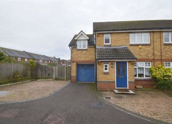 Thumbnail 3 bed semi-detached house to rent in Gordon Close, Ashford, Kent