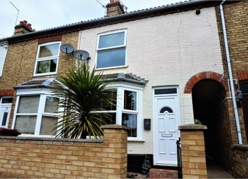 Thumbnail 3 bedroom terraced house for sale in Silver Street, Peterborough