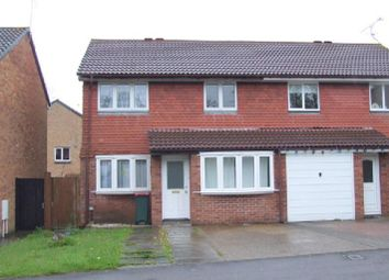 Thumbnail 3 bed semi-detached house to rent in Birkdale Drive, Ifield, Crawley