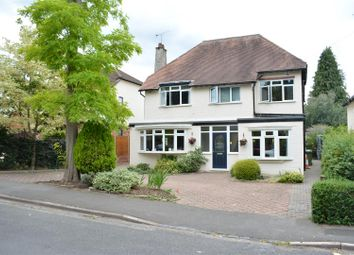 Thumbnail 4 bed detached house for sale in Woodcote Park Road, Epsom