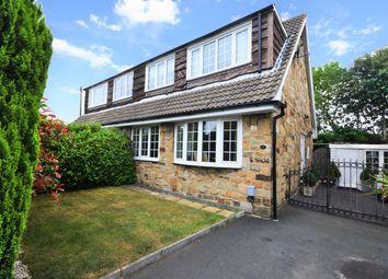 Thumbnail 3 bed semi-detached house for sale in Stead Lane, Kirkheaton, Huddersfield