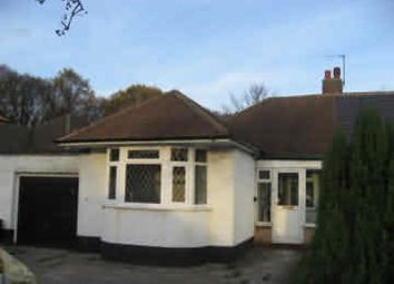 Thumbnail 2 bed detached bungalow to rent in Heathland Avenue, Shard End, Birmingham
