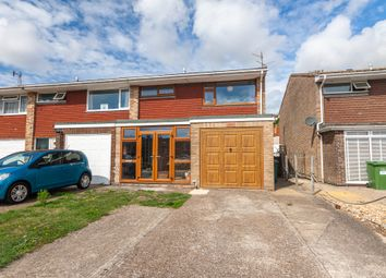 Thumbnail 3 bed semi-detached house for sale in Powell Gardens, Newhaven, East Sussex