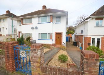 Thumbnail 3 bed semi-detached house for sale in Isleworth Road, Exeter, Devon
