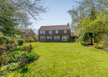 Thumbnail 5 bed detached house for sale in Back Lane, Bilbrough, York