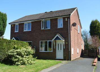 Thumbnail 2 bedroom semi-detached house for sale in Hawthorne Close, Ketley Bank, Telford, Shropshire.