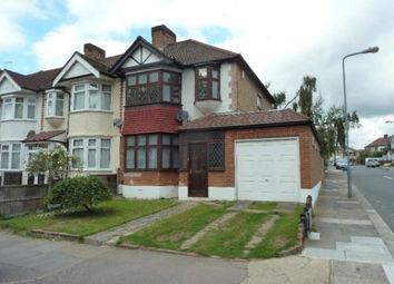 Thumbnail 3 bed property to rent in Chadville Gardens, Chadwell Heath, Romford