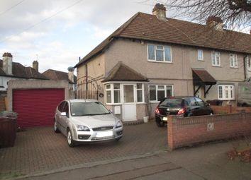 Thumbnail 3 bedroom end terrace house for sale in Marsh Green Road, Dagenham