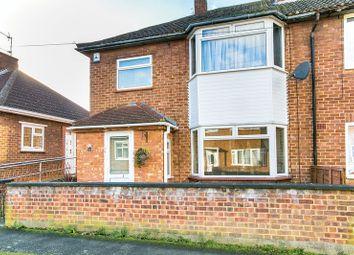 Thumbnail 3 bedroom end terrace house for sale in Furze Way, Wolverton, Milton Keynes