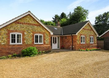 Thumbnail 4 bedroom detached bungalow for sale in Cley Lane, Saham Toney, Thetford