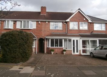 Thumbnail 3 bedroom terraced house to rent in Somercotes Road, Great Barr, Birmingham