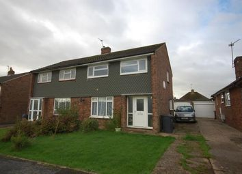 Thumbnail 3 bed semi-detached house for sale in Keld Drive, Uckfield, East Sussex, Uk