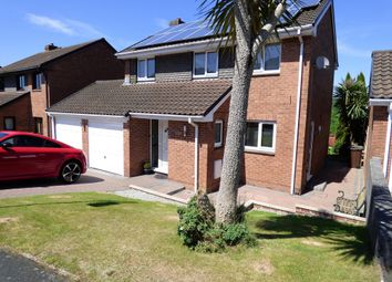 Thumbnail 4 bed detached house for sale in Greenwood Park Close, Plympton, Plymouth