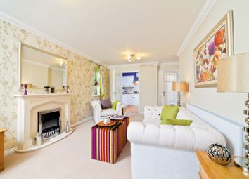 Thumbnail 2 bed flat for sale in Ash Lodge Churchfield Road, Walton On Thames