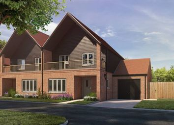 "Thumbnail 3 bed semi-detached house for sale in ""The Bilson - Semi-Detached"" at Stoney Mews, Winchester"