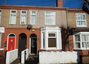 Thumbnail 3 bedroom terraced house for sale in Holmfield Road, Stoke, Coventry