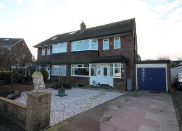 Thumbnail 3 bed semi-detached house for sale in Cumberland Road, Urmston, Manchester
