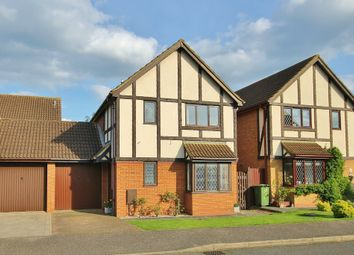 Thumbnail 3 bedroom detached house for sale in Dart Close, St. Ives, Huntingdon