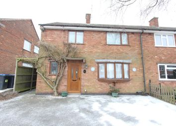 Thumbnail 3 bed semi-detached house for sale in St. Martins Drive, Desford, Leicester