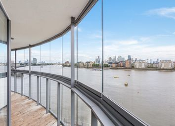 Thumbnail 3 bed flat for sale in Admirals Tower, Dowells Street, Greenwich
