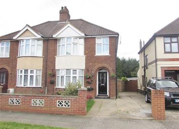 Thumbnail 3 bedroom semi-detached house for sale in Wroxham Road, Ipswich