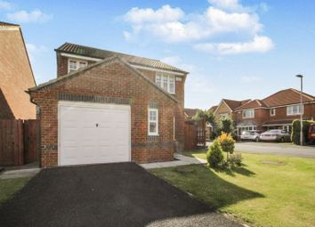 Thumbnail 3 bed detached house for sale in Meadowgate Drive, Hartlepool