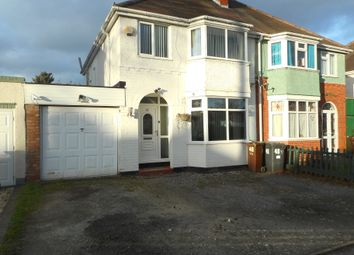 Thumbnail 3 bed semi-detached house for sale in Beech Road, Wolverhampton