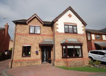 Thumbnail 4 bed detached house for sale in Flass Lane, Barrow-In-Furness
