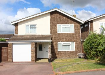 Thumbnail 4 bed detached house for sale in Welbeck Close, Burgess Hill