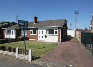 Thumbnail 2 bed semi-detached bungalow to rent in Southfield Road, Armthorpe, Doncaster