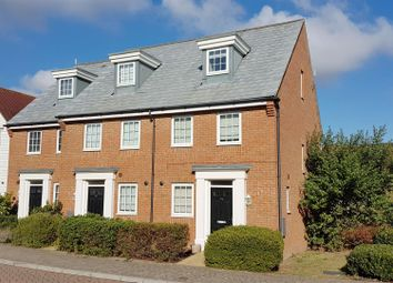 Thumbnail 3 bed end terrace house to rent in Hazen Road, Kings Hill