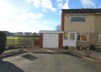 Thumbnail 2 bed semi-detached house for sale in Greenacres Close, Ossett