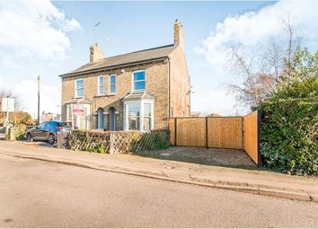 Thumbnail 3 bed semi-detached house for sale in Eyebury Road, Eye, Peterborough, Cambridgshire