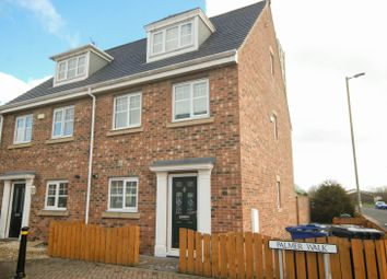 Thumbnail 4 bed town house for sale in Palmer Walk, Jarrow