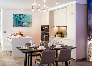 Thumbnail 1 bed flat for sale in Principal Tower, London