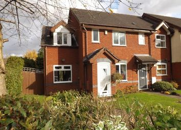 Thumbnail 3 bed semi-detached house for sale in Kerswell Drive, Monkspath, Solihull, West Midlands