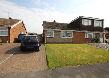 Thumbnail 3 bed semi-detached bungalow for sale in Henhurst Ridge, Burton-On-Trent